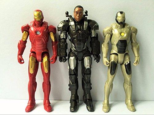 "3pcs IRON-MAN 4"" Inch Action Figure"