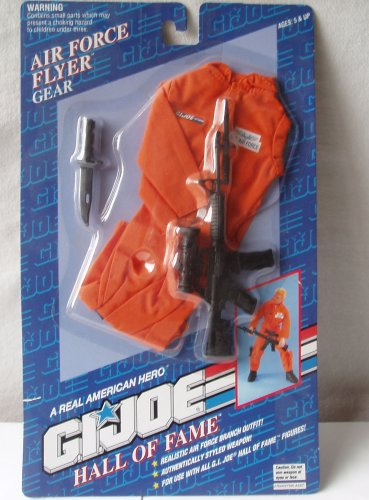 GI Joe Hall of Fame Air Force Flyer Gear Action Figure Accessory - 1