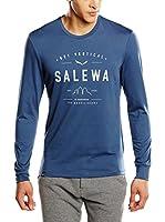 Salewa Camiseta Manga Larga Puez Dri-Rel M L/S (Azul)