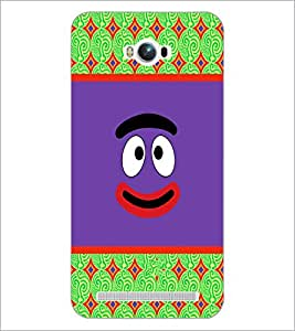 PrintDhaba Cartoon D-5783 Back Case Cover for ASUS ZENFONE MAX ZC550KL (2016) (Multi-Coloured)
