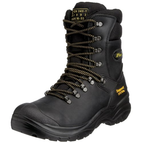 Grisport Men's Combat Safety Boot Black AMG004 8 UK