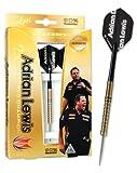 Target Darts Pro Player Adrian Lewis Zirconium Steel Tip Darts, 25gm