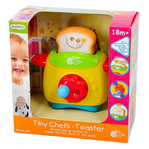 Tiny Chefs Musical Pop Up Toaster front-530357