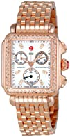Michele Womens MWW06P000109 Deco Day Chronograph Dial Watch