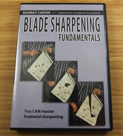 Blade Sharpening Fundamentals (Dvd)