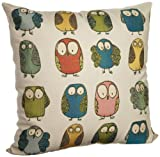 Brentwood Give a Hoot 20-Inch Pillow Multi