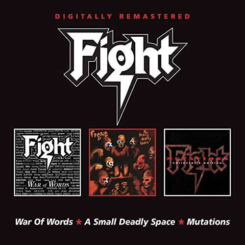 CD : FIGHT - War Of Words / Small Deadly Space / Mutations (2 Discos)