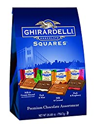 Ghirardelli Squares, Premium Chocolate Assortment 26.48 Ounce, San Fransisco Bag XXL