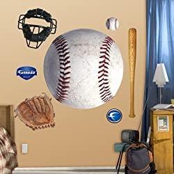 FATHEAD Assorted Baseball Graphics Graphic Wall D cor