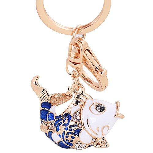 la-version-coreana-del-goldfish-car-key-ring-colgantes-senoras-moda-colgante-agujereado-diamond-joye