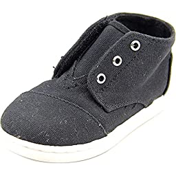 Toms Paseo-Mids Black Canvas 10002660 Tiny 8