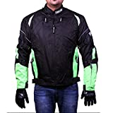 Zeus All Terrain Motorcycle Jacket Green V4.0