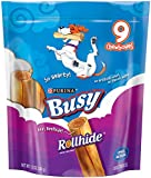 Busy Rollhide Dog Treats, Small/Medium, 12-Ounce Pouch, Pack of 1