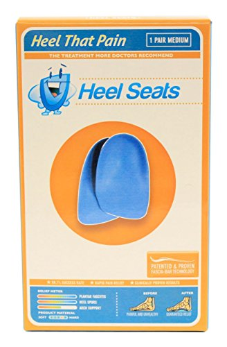 Heel Seat Cup Inserts – Heel That Pain – (Men 5-8 ; Women 7-10) Medium