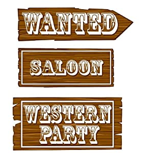 Western Theme Party Supplies