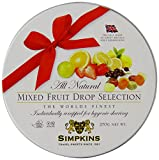 Simpkins All Natural Mixed Fruit Drop Selection in a Tin 270 g (Pack of 2)