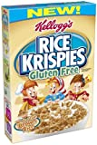 Kellogg's Rice Krispies Gluten Free Cereal, Whole Grain Brown Rice, 12-Ounce Boxes (Pack of 4)