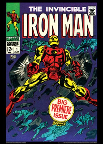 Iron Man #1:  Vintage Marvel Poster Series