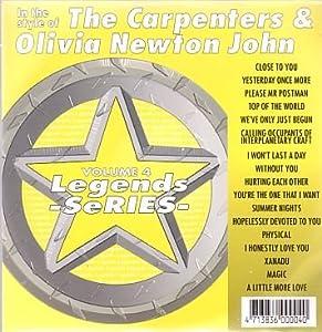 Olivia ton John & Carpenters Karaoke Disc - Legends Series CDG Vol. 004