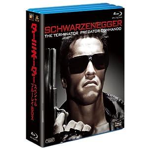 ターミネーター スペシャル・ブルーレイBOX(3枚組)(初回生産限定) [Blu-ray]