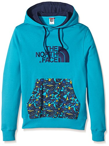 The North Face, Felpa con cappuccio Uomo, Blu (Enamel Blue), S
