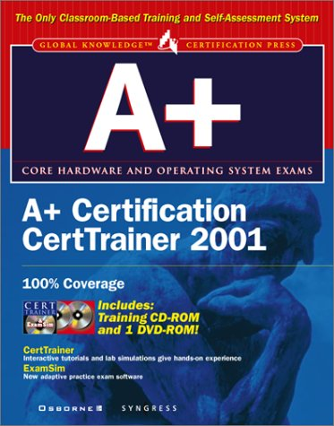 A+ Certification DVD CertTrainer with CDROM and Other