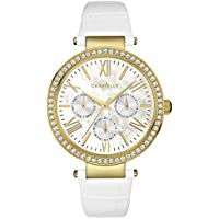 Caravelle New York Women's Crystal Strap Bracelet