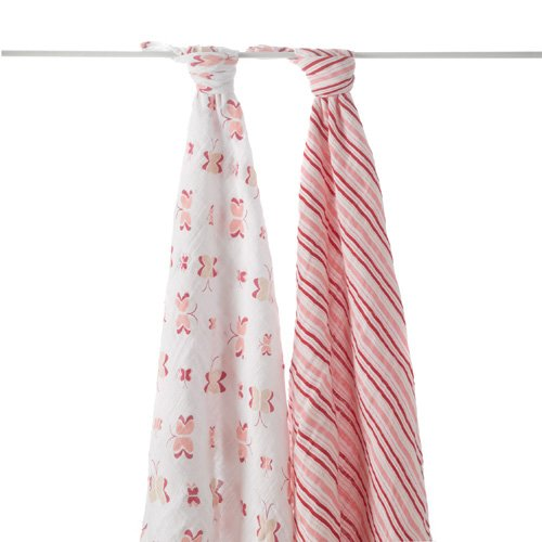 Aden And Anais 2 Pack Swaddles front-3095