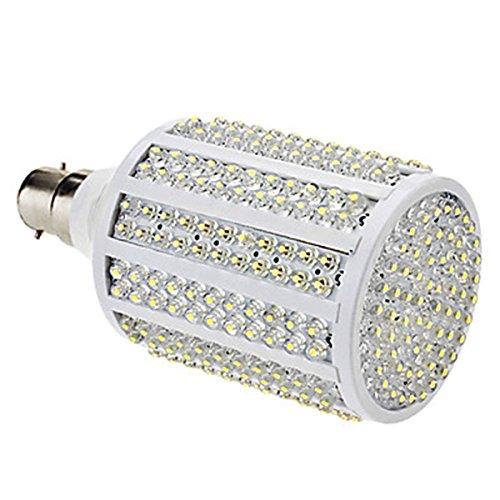 Generic B22 19W 330-Led 1000-1100Lm 8000-8500K Cold White Light Led Corn Bulb (85-265V)