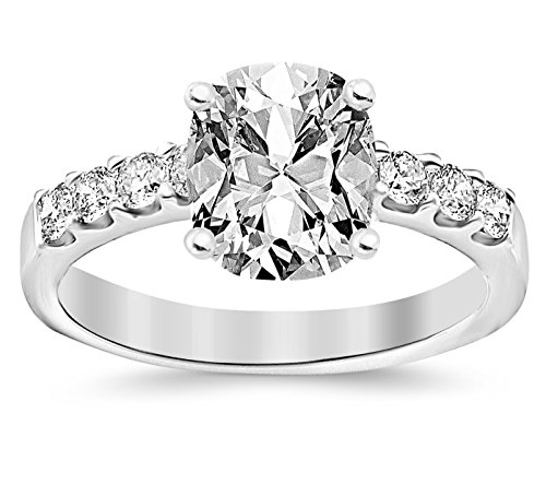 GIA Certified 1 20 Carat Cushion Prong Set Diamond Engagement Ring with 0 7 C