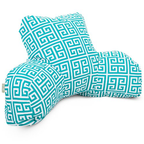 Majestic Home Goods Pacific Towers Reading Pillow, Turquoise