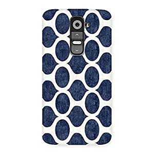 Gorgeous Old Cage Print Back Case Cover for LG G2