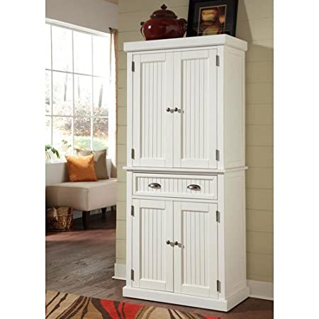 Nantucket Pantry Distressed Finish 16 X 30 X 71 5 InchesStorage Drawer