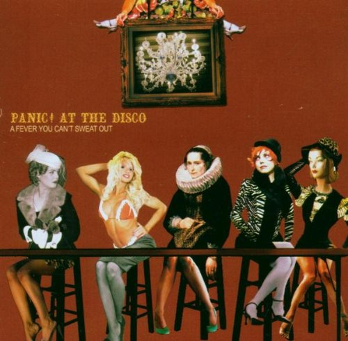 Original album cover of A Fever You Can't Sweat Out by Panic At The Disco