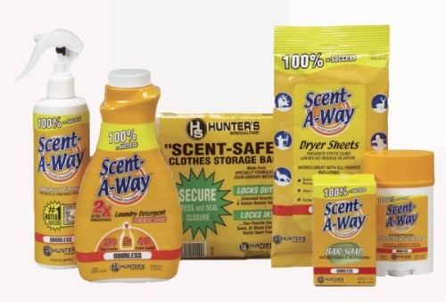 Hunter's Specialties Inc. Scent A Way Basic Control Kit, Odorless