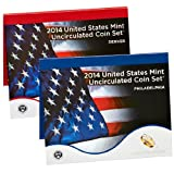 2014 United States Mint Uncirculated Coin Set (U14)