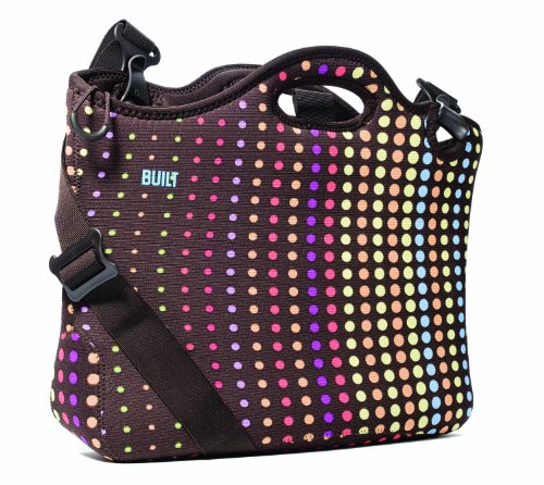 Built NY - Dots - Laptop/Notebook Portfolio Neoprene Bag/Case/Cover/Sleeve for 13