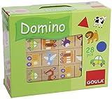 Goula - 50264 - Jouet en Bois - Eveil - Domino - Véhicules...