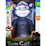 Big Talking Tom Interactive Toy Talks Back Mimicry Cat Copy Voice Pet Gift