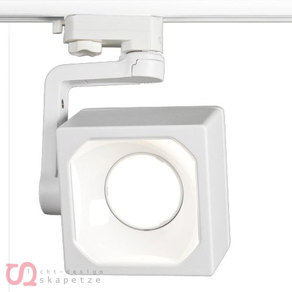 SLV Euro Cube Dlmi Spot, 1100 lm, 4000 K, inklusive 3 Pin Adapter, weiß 152711