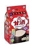 森永製菓 フリーズドライ おうち茶屋 甘酒 14g 4食×10袋入