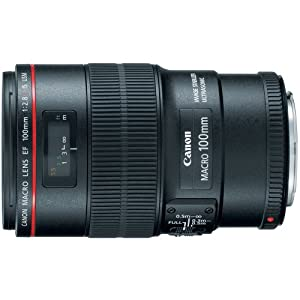 Canon EF 100mm f/2.8L IS USM Macro Lens for Canon Digital SLR Cameras