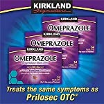 Kirkland Signature Omeprazole Delayed Release Tablets 20 Mg X 42
