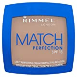 Rimmel Match Perfection Cream Compact Foundation 100 Ivory 7g