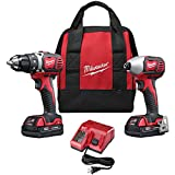 Milwaukee 2691 22 18 Volt Compact Drill and Impact Driver Combo Kit reviews