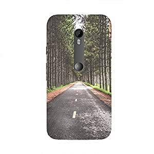 Back cover for Moto X Style Lonely Road