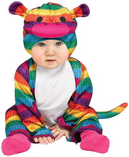 Fun World - Rainbow Sock Monkey Infant Costume
