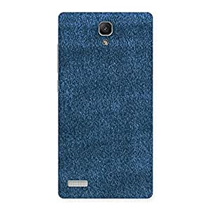 Royal Blue Clothing Pattern Back Case Cover for Redmi Note 4