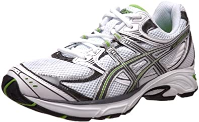 ASICS Women's GEL-Kanbarra 6 T188N.0197 Running Shoe,White/Titanium/Apple Green,6 M US