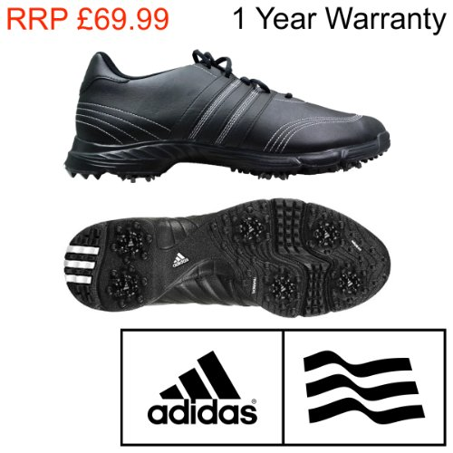 Adidas GolfLite 4 Core Performance Mens Black Golf Shoes
